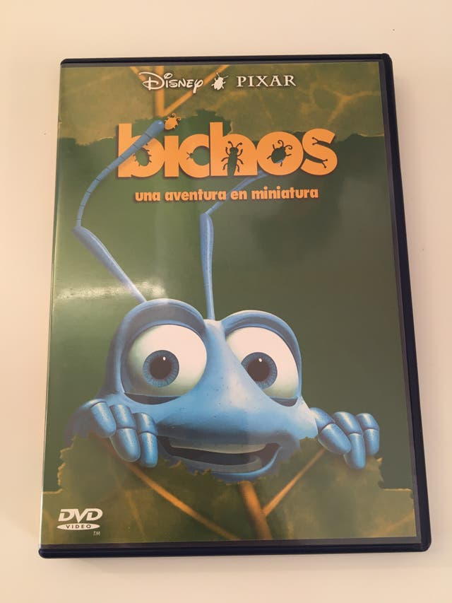 Bichos DVD Disney Pixar