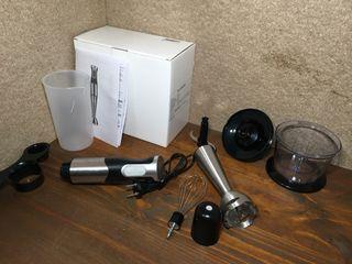 Batidora de mano eléctrica con accesorios