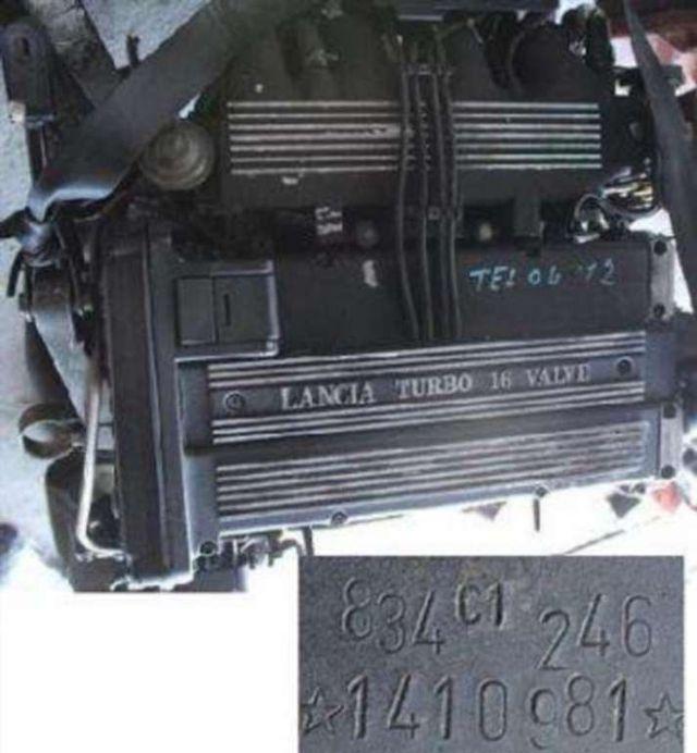 Motor Lancia Alfa Fiat Motor 2.0 16v Turbo