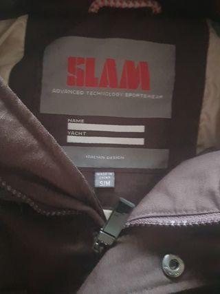 SLAM marron oscuro 3/4
