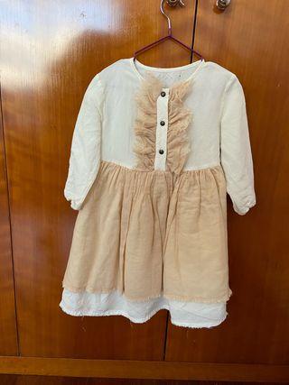 Vestido Little Creative Factory, talla 2 años