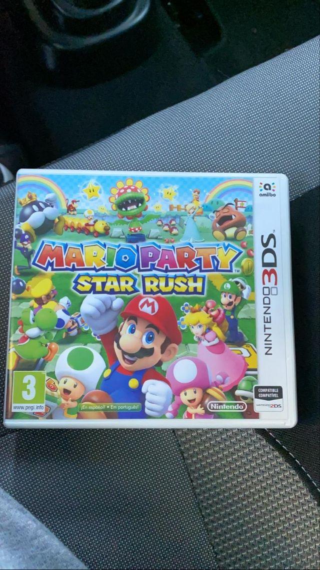 Mario party star Rush Para nintendo switch