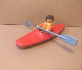 Playmobil niño con kayak 2