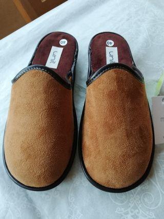 zapatillas casa hombre pies delicados NUEVAS