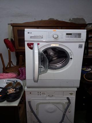 lavadora lg 8kg direct drive