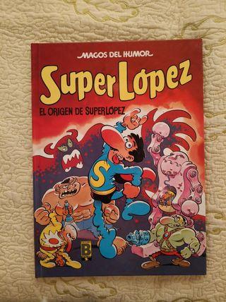 SuperLópez el origen de SuperLópez.