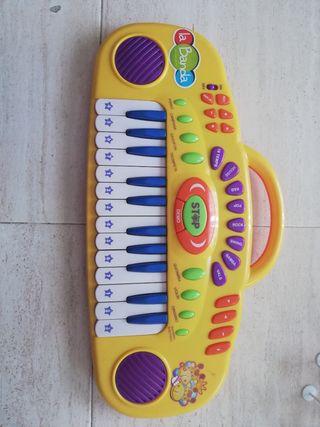 órgano musical infantil.