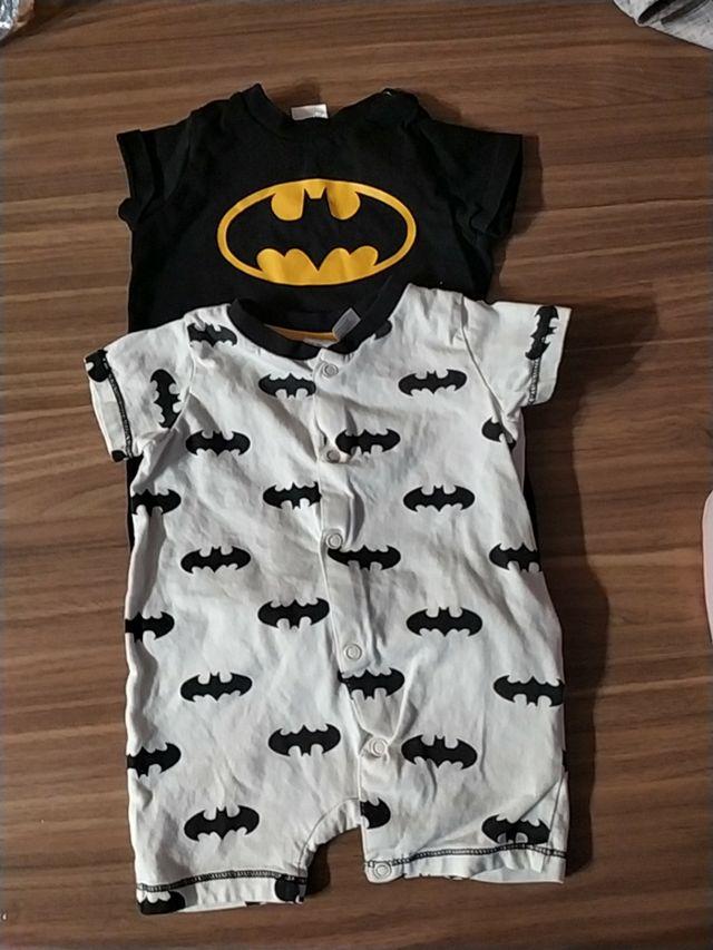 2 pijamas bebé 56 cm