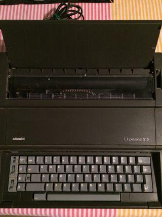Máquina escribir eléctrica Olivetti 510