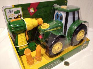 Juguete Construye el Tractor Johnny Nuevo Bizak
