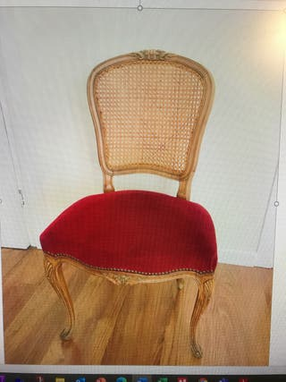 2 sillas Luis XVI buen estado
