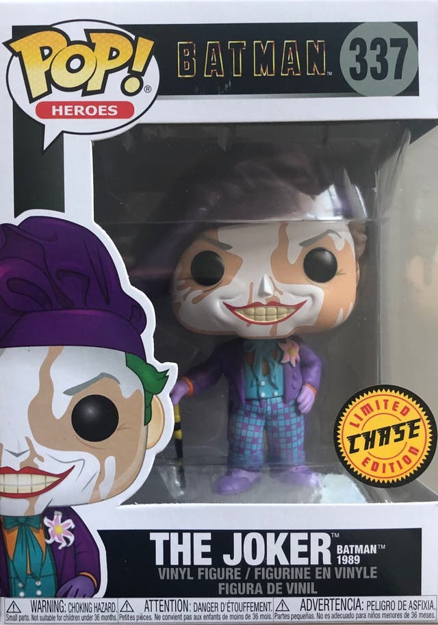 Funko Pop Chase The Joker Batman 1989