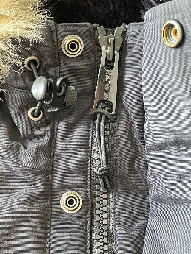 Abrigo carhartt x anchorage parka negro