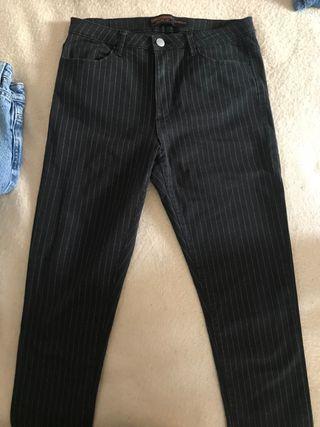 Pantalón con rallas