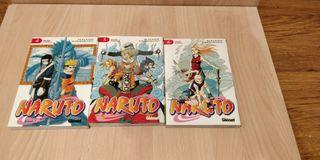 Naruto #4, 5, 6