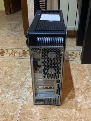 (x4 HP Z600 Workstation INTEL XEON E5640 2,67 GHz.