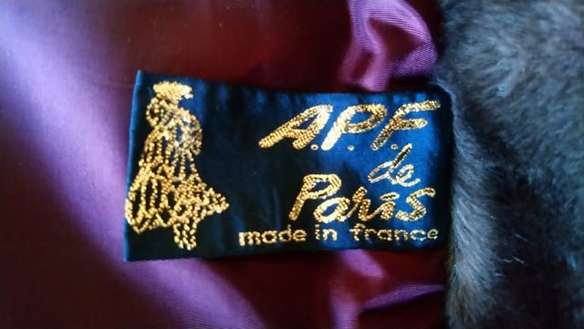Abrigo mujer de pelo hecho en Paris