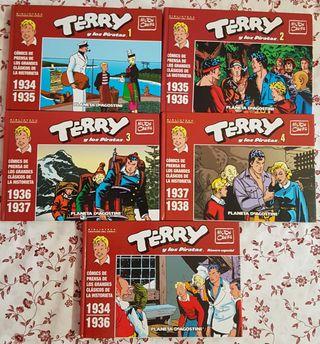 Terry y los Piratas de Milton Caniff