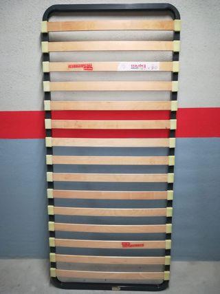 Somier de láminas de madera