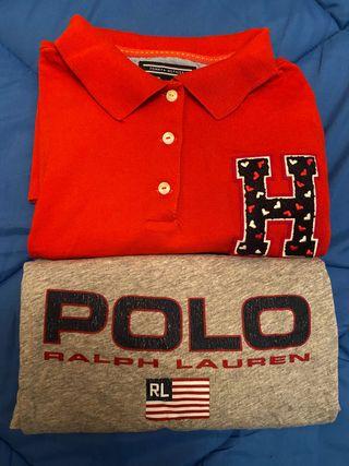 Polo y Camiseta Tommy Hilfiger y Ralph Lauren