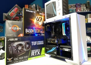 Tienda de montaje profesional de ordenadores
