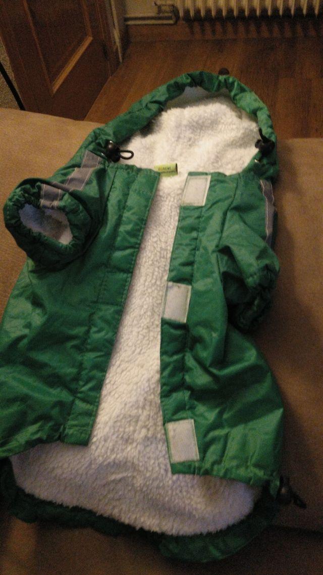 abrigo perro pequeño mediano calentito