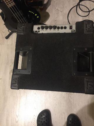 Amplificador bajo SWR LA 15