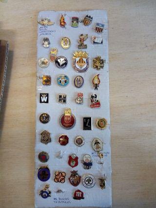 insignias pin fallas y mas