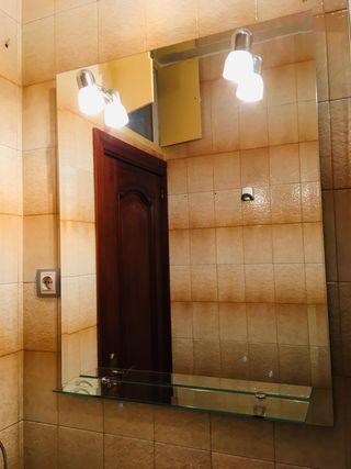 Espejo de pared para baño