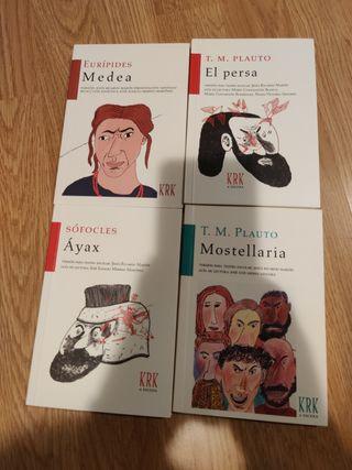 Libros latinos clásicos