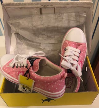 Zapatos loneta Lois niña, número 36