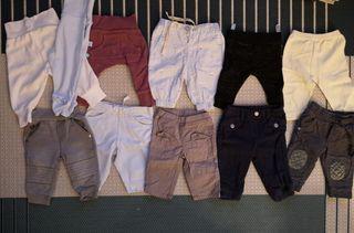 Pack de 11 pantalones bebé 0-3 meses