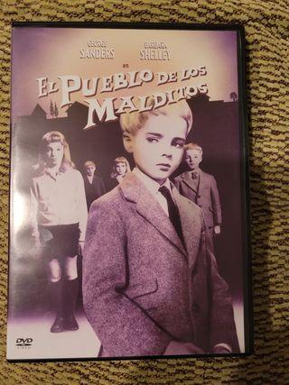 El pueblo de los malditos. dvd