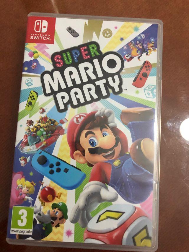 Super mario party para Nintendo switch