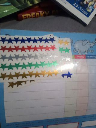 Kids 4-8 star chart