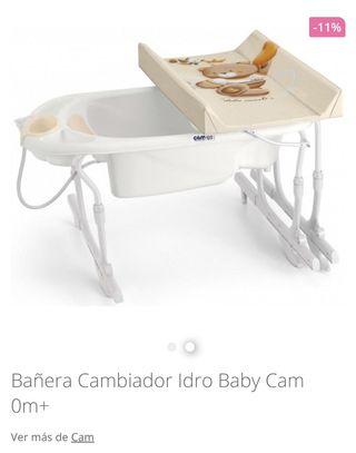 Bañera Cambiador adaptable
