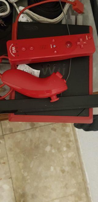 Wii roja nueva