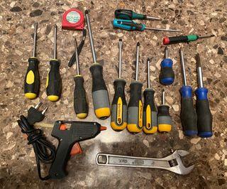 (2FOTOS) Lote herramientas varias
