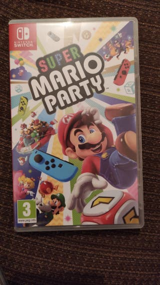 intercambio o vendo Mario Party Nintendo Switch