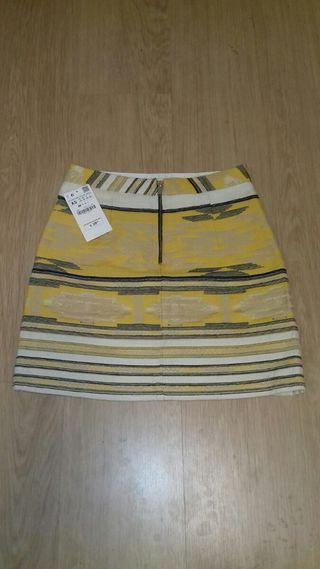mini falda de ZARA