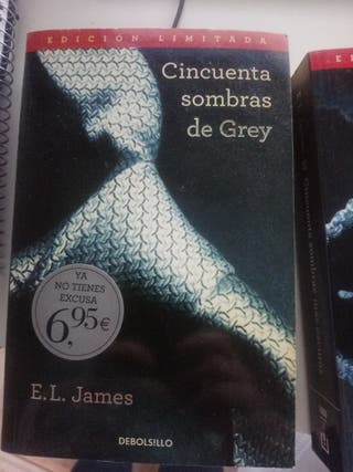 Los tres libros de las 50 sombras de Grey