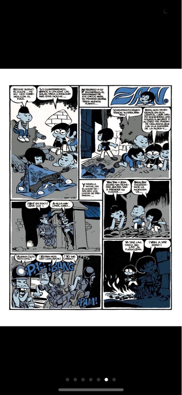 ZAN comic x Jan autor de Superlopez super lopez