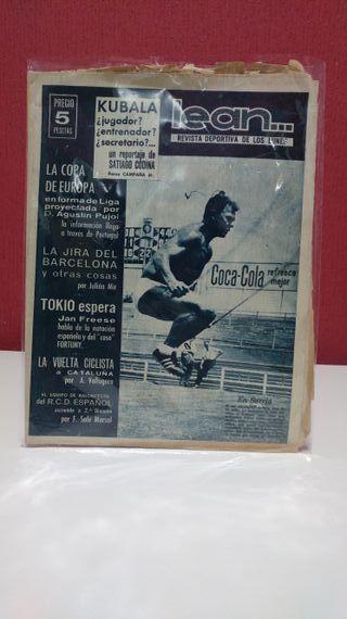 Revista Deportiva Lean Kubala 1959