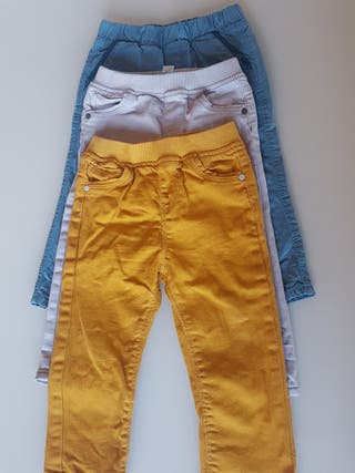 4 Pantalones Obaïbi 18 meses