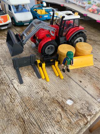 Tractor playmovil