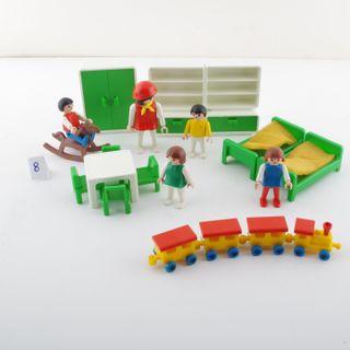 playmobil guardería clásico 3417 niños