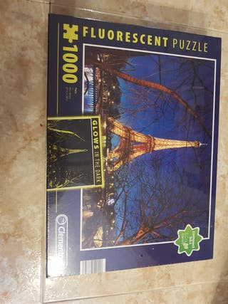 Puzzle Paris fluorescente