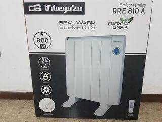 Calefactor o estufa electrica