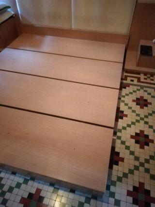 Base cama madera