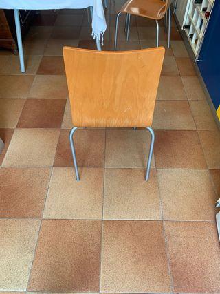 4 sillas de cocina o comedor